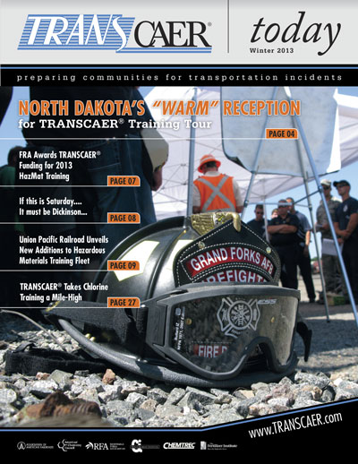 TRANSCAER Today Winter 2013 Cover