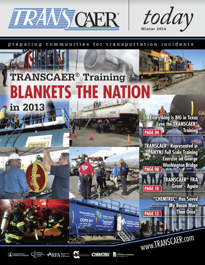 TRANSCAER Today Winter 2014 Cover